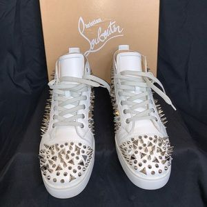 AUTHENTIC MENS LOUBOUTIN SNEAKERS